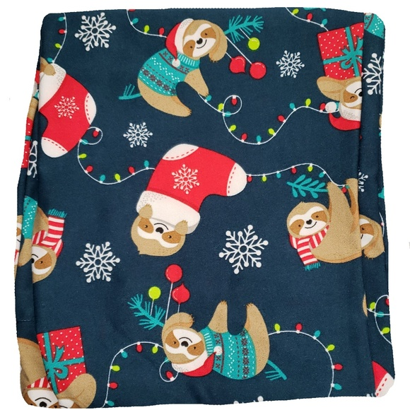 New Womens Leggings Plus Size Ladies Christmas Santa Bag Print Full Length Soft